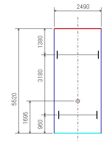 旋回軌跡図1