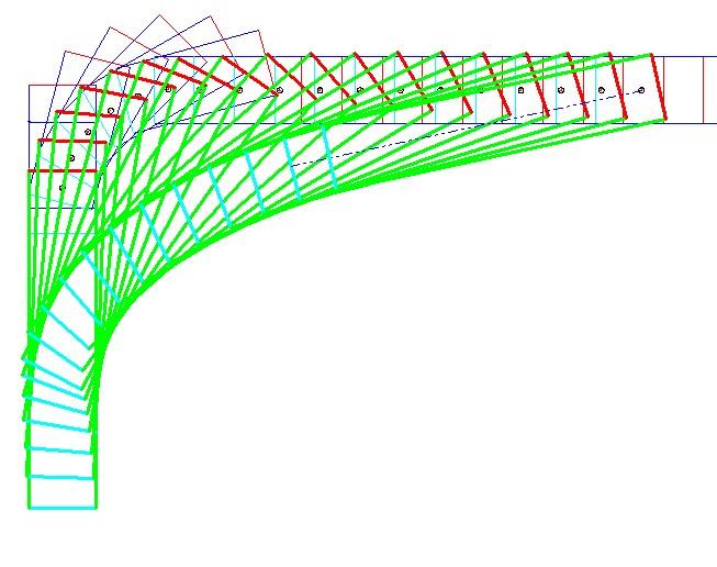 旋回軌跡図11