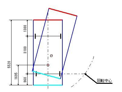 旋回軌跡図3