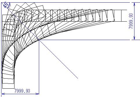 旋回軌跡図13