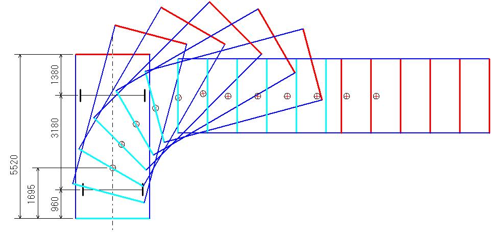 旋回軌跡図5