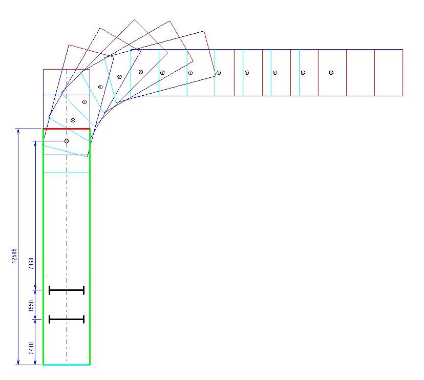 旋回軌跡図7